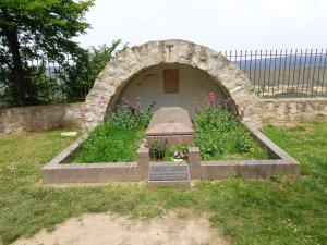 Tombe de l'Abbé Saunière Rennes-le-Château