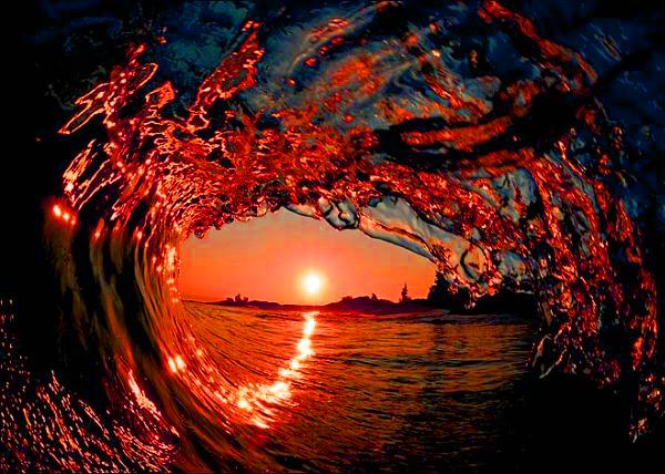 Manifeste cosmique : Dragon rouge magnétique